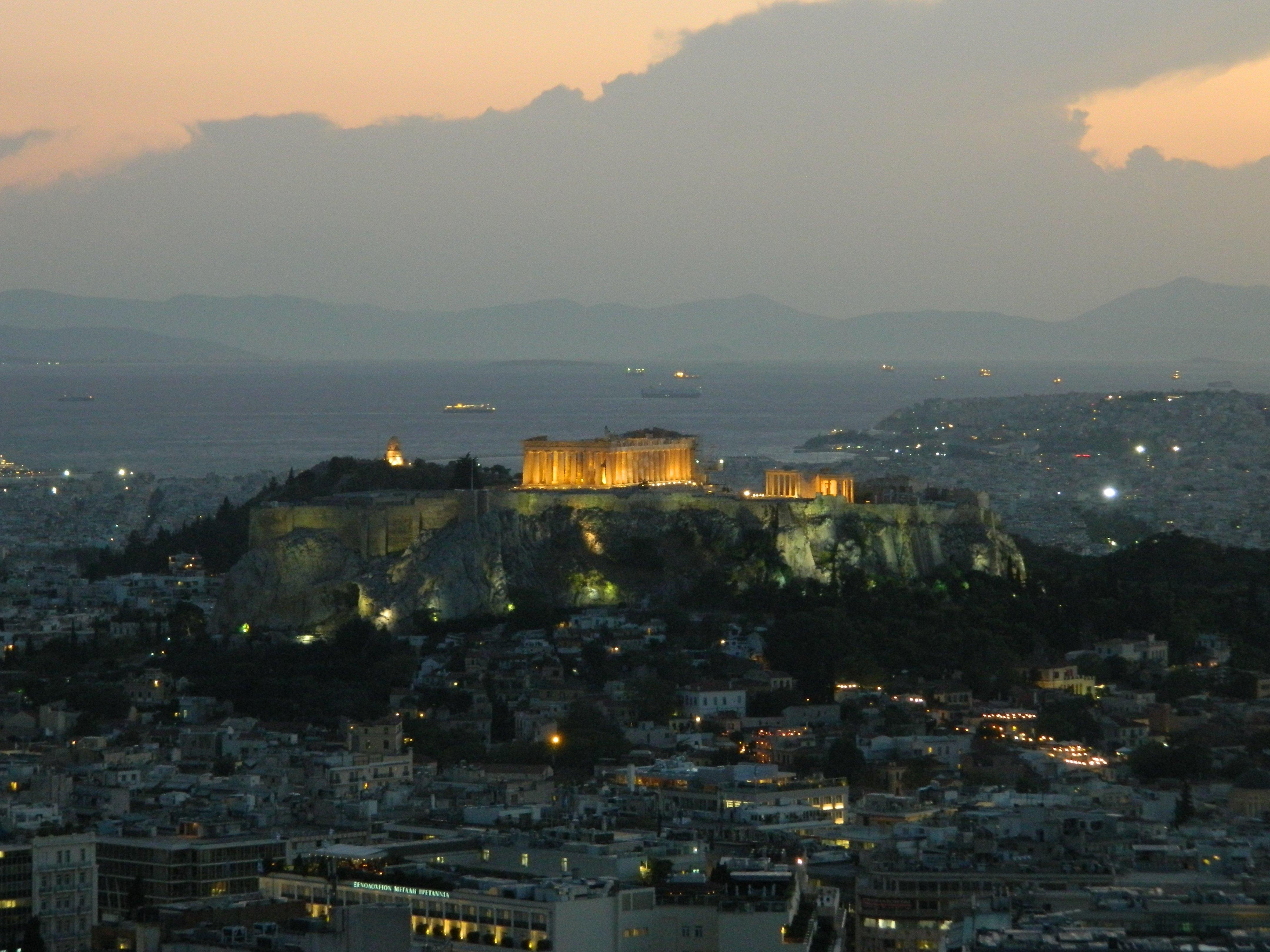 Lycabettus Athen. Foto: Christian Maskos, Medienfotograf