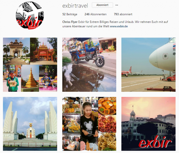 Exbir Instagram