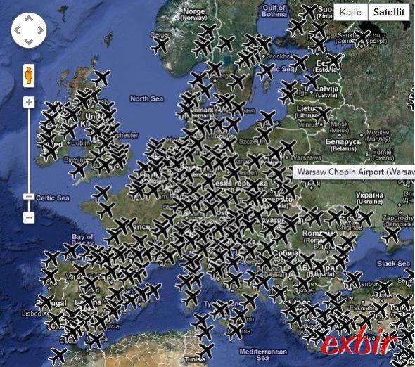 Ihr könnt jetzt auf einer Landkarte auch alle Flughäfen eintragen wo Ihr schon gelandet seid.  Die Karte gehrt zum Beispiel ChrissFlyer.