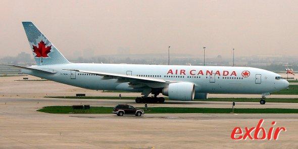 Eine Tripple Seven von Ar Canada.  Foto: Christian Maskos