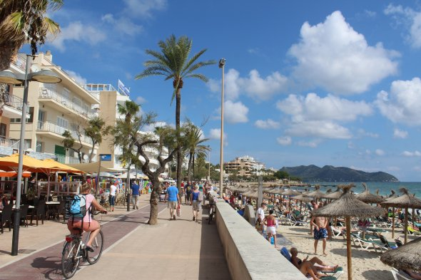 Die Promenade von Calla Millor.