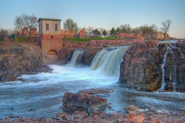 Die Sioux Falls in Dakota.