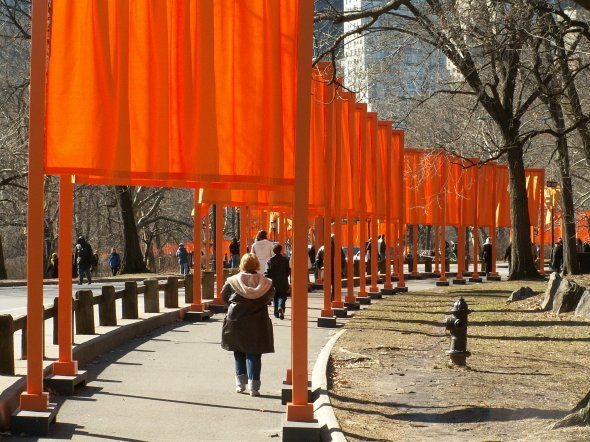 the gates 201, Christo und Jeanne-Claude