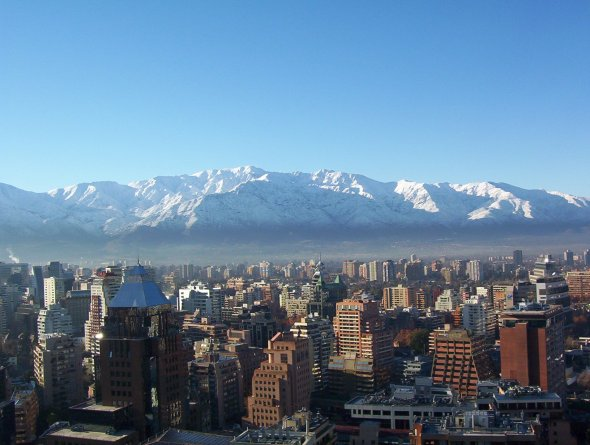 Winter in Santiago Chile.