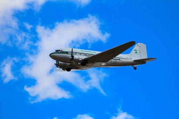 Die DC 3 ZK-AWP  Foto: Air Chathams