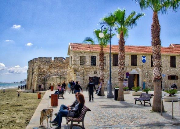 Das Stadtschloss Larnaca Castle auf Zypern