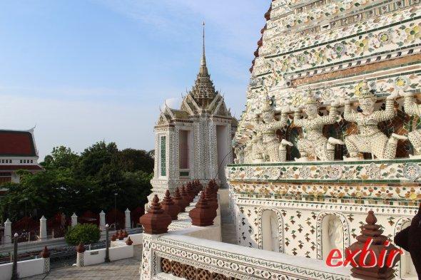 Tempel in Bangkok.