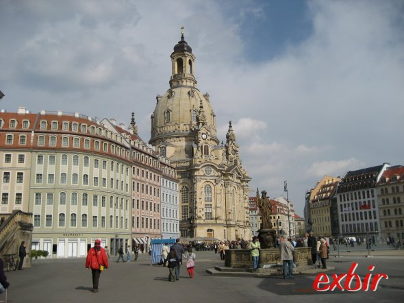 Frauenkirche in Dresden. Foto: FlyWolf