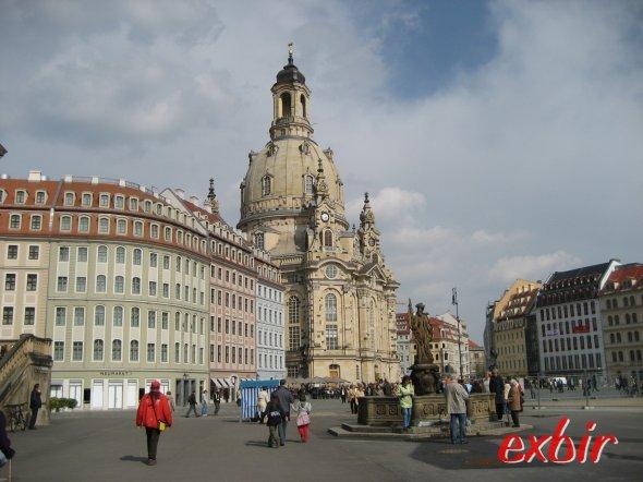 Frauenkirche in Dresden.