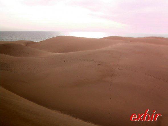 Die Sanddünen von Maspalomas.  Foto: Christian Maskos