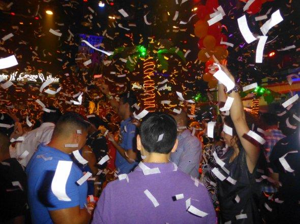 Die Partyszene im mexikanischen Cancun