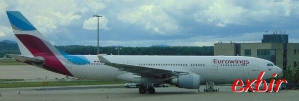 Eurowings Langstrecken ab München.  Foto: Christian Maskos