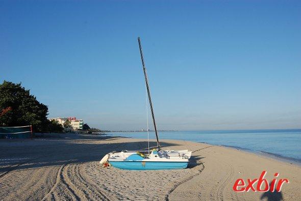 Der Strand von Varadero.  Foto: Christian Maskos