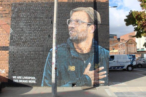 Portrait von Liverpool-Coach Jürgen Klopp.