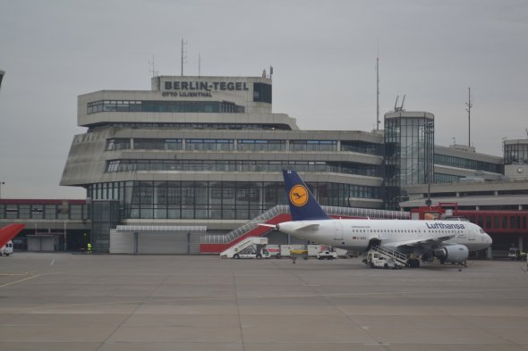 Dritter nach abgefertigen Passagieren 2019: Berlin-Tegel.