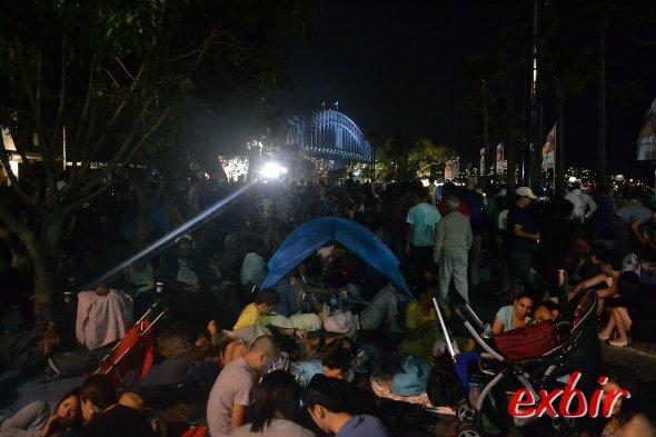 Manch einer hatte sein eigenes Zelt mitgebracht um ein wenig Ruhe zu finden und zu relaxen.Foto:Christian Maskos