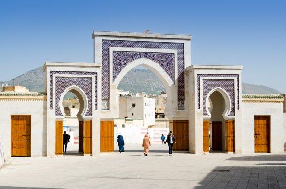 Unterwegs in Fez. Urheber: xiquinhosilva, Lizenz: creative commons (Namensnennung)