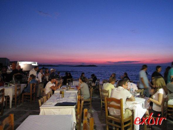 Abend auf Mykonos. Foto: FlyWolf