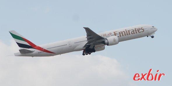 Emriates und Etihad sollen bald ab London-Stansted fliegen.  Foto: Christian Maskos