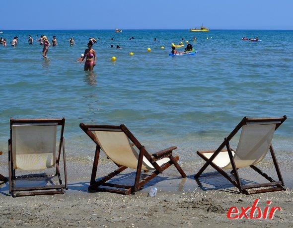 Badefreuden in Griechenland