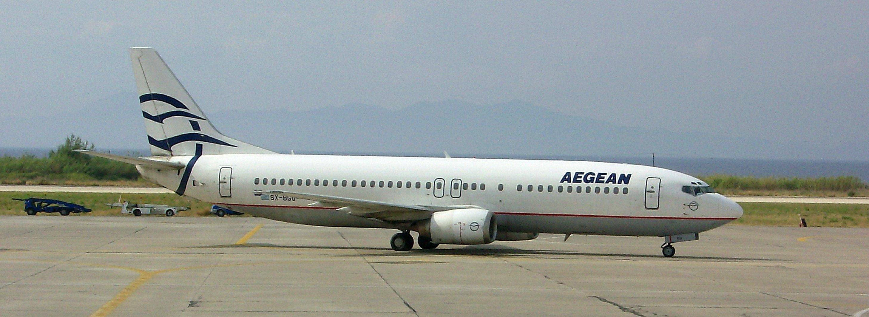 Aegean Air Maschine.