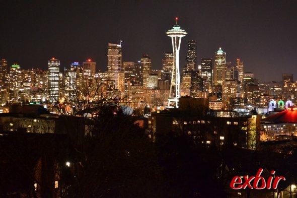 Seattle bei Nacht: Foto: Christian Maskos, Medienfotograf