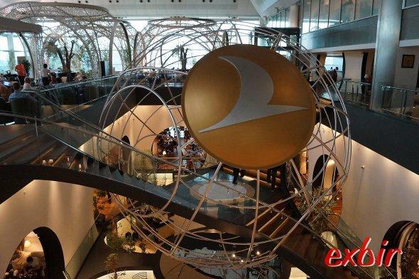 Beeindruckend -  die weltweit beste Airline-Lounge in Istanbul-Atatür.  Foto: Christian Maskos