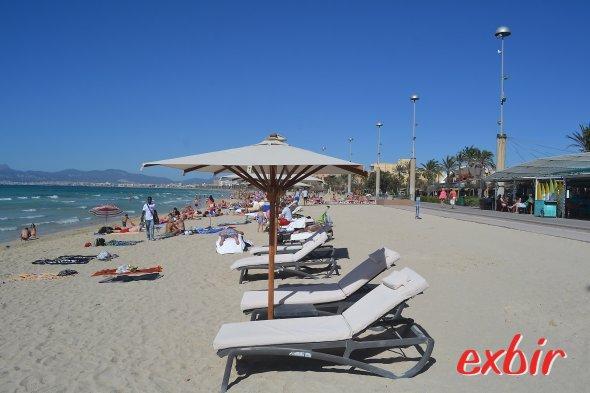 Stand auf Mallorca. Foto: Exbir Travel, C. Maskos