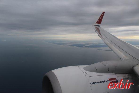 Norwegian Boeing B737-800. Foto: Christian Maskos