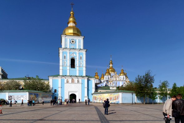 St. Michaelskloster in Kiew, Ukraine