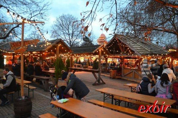 Weihnachtsmarkt im WInderwonderland im Londoner Hydepark. Foto: Christian Maskos