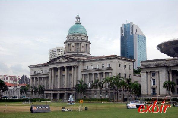 Die Spuren der britischen Kolonialzeit sind in Singapore nicht zu übersehen.  Foto: Christian Maskos