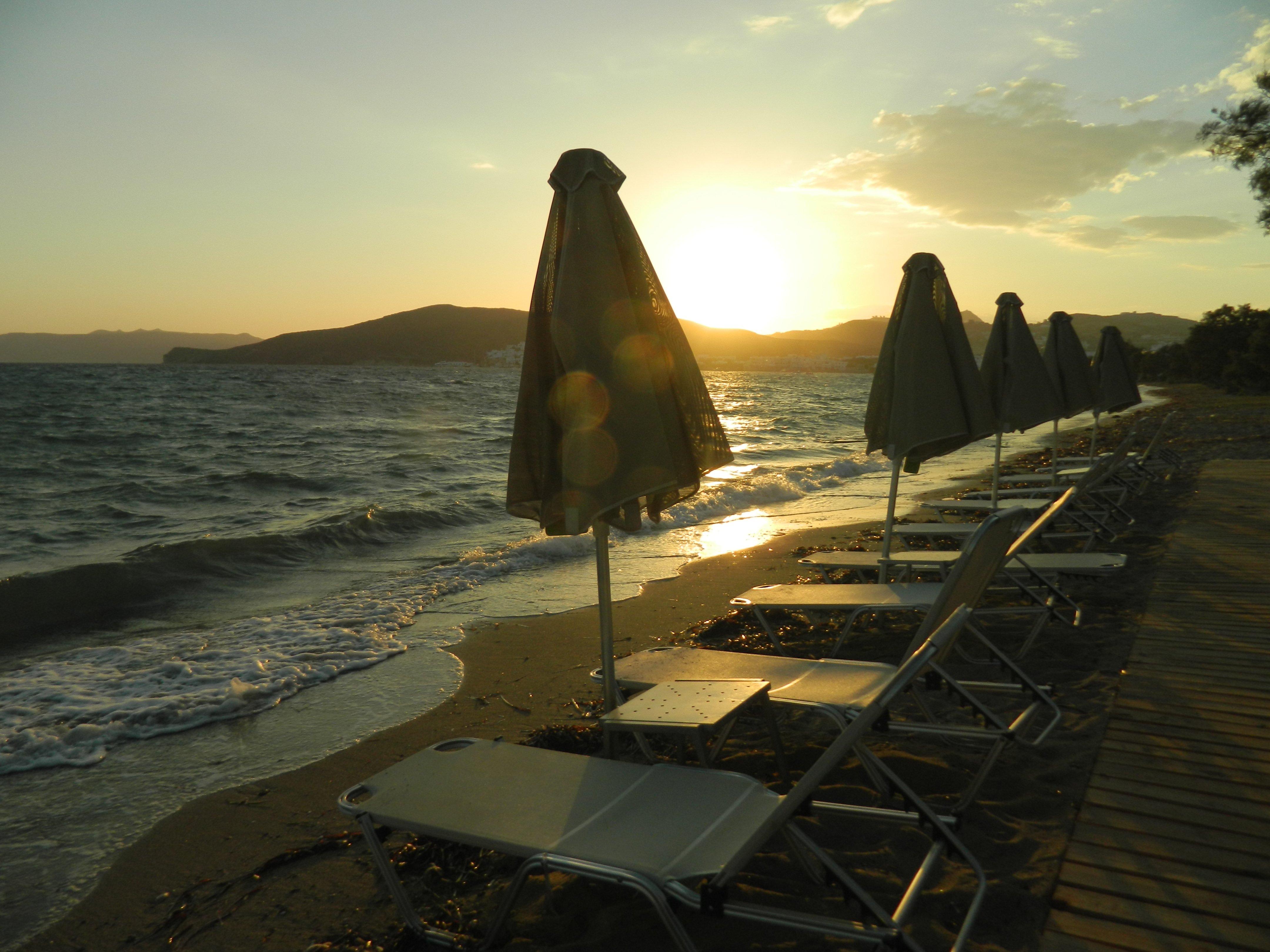 Sonnenuntergang Milos. Foto: Christian Maskos, Medienfotograf