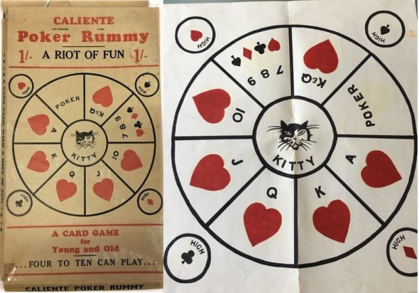 1930s John Sands card game called Poker Rummy