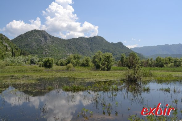 Traumhafte Landschaft im Skadar-Nationalpark bei Podgorica.  Foto: Christian Maskos