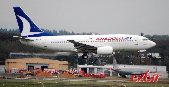 Extrem Billige inlandsflüge inklusive Gepäck & klinm Service ab Ankara nach Anatolien mit Anadolu Jet.  Foto: Christian Maskos