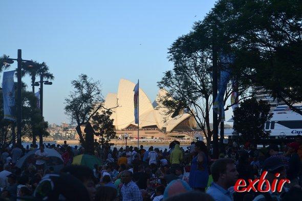 Sylvester in Sydney: Sicht aufs Opernhaus. Foto: Christian Maskos