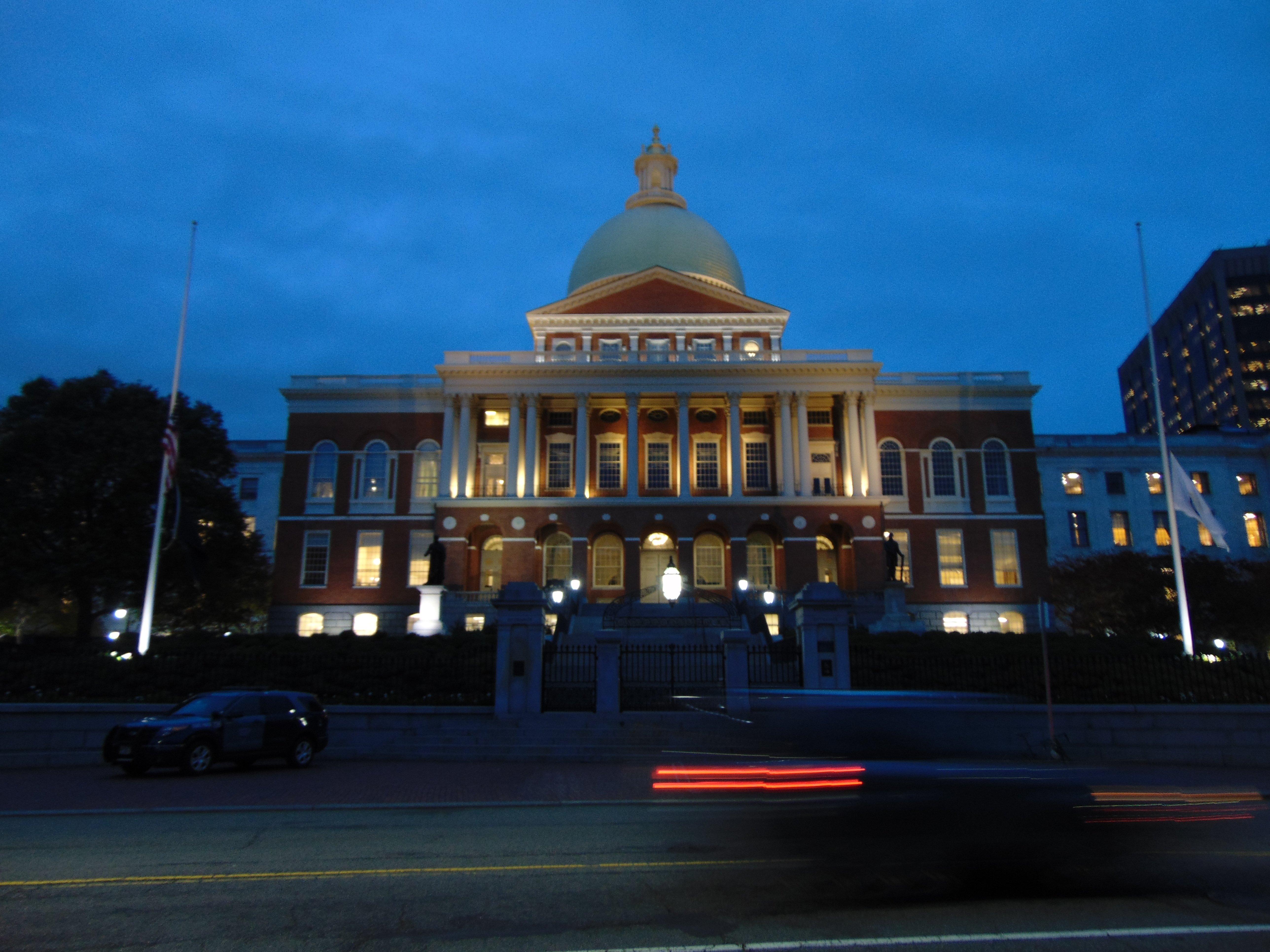 Boston State House.