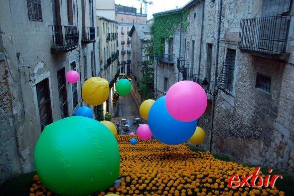 Jetzt günstig zum Blumenzauber  nach Girona fliegen.  Foto: Christian Maskos