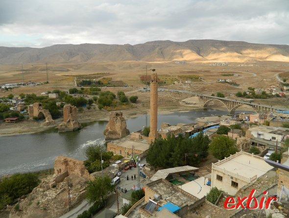 Historisches Hasankeyf.  Foto: Christian Maskos