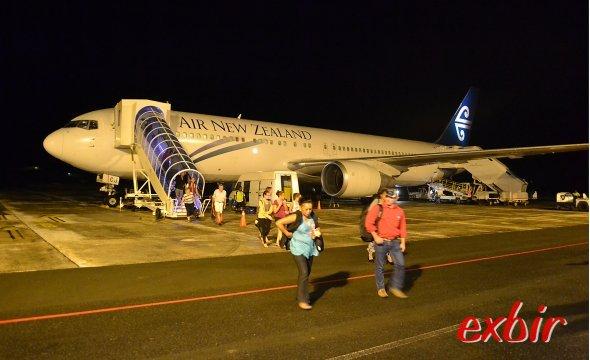 Mit dieser Boeing 767-300ER ging es die Vergangenheit.  Foto: Christian Maskos