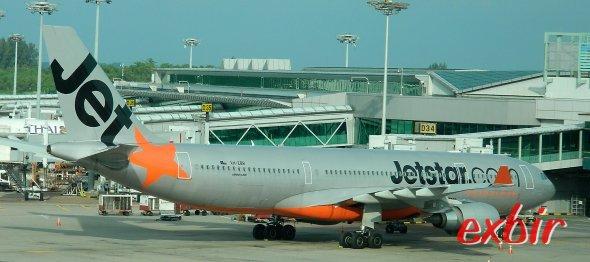 Jetstar ist der einzige Billigflieger auf der Transpazifiksrecke von Australien in die USA. Foto: Christian Maskos