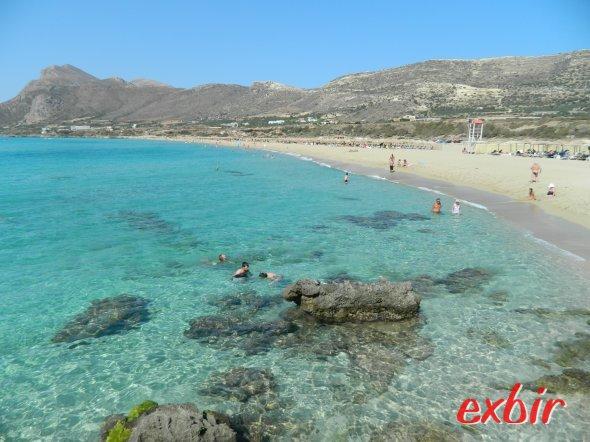Falasarna Beach in wester crete.  photo: Christian Maskos