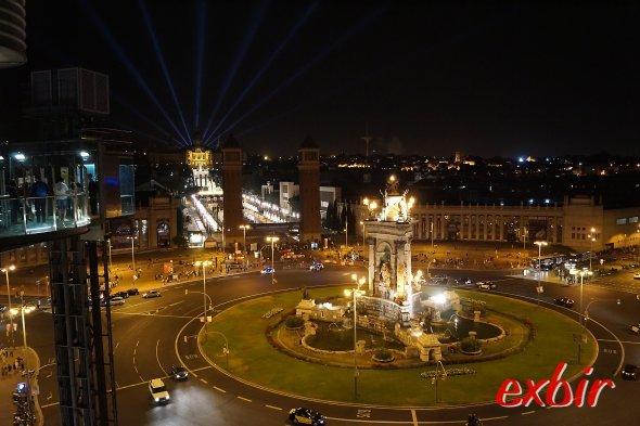 Blick auf den Placa Espana.  Foto: Christian Maskos