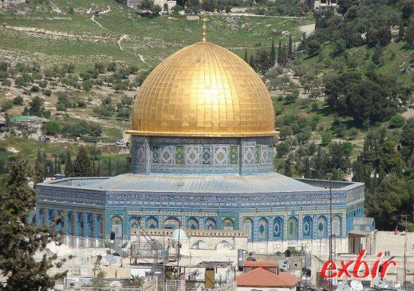 Der Felsendom in Jerusalem. Foto: Exbir Travel, C. Maskos