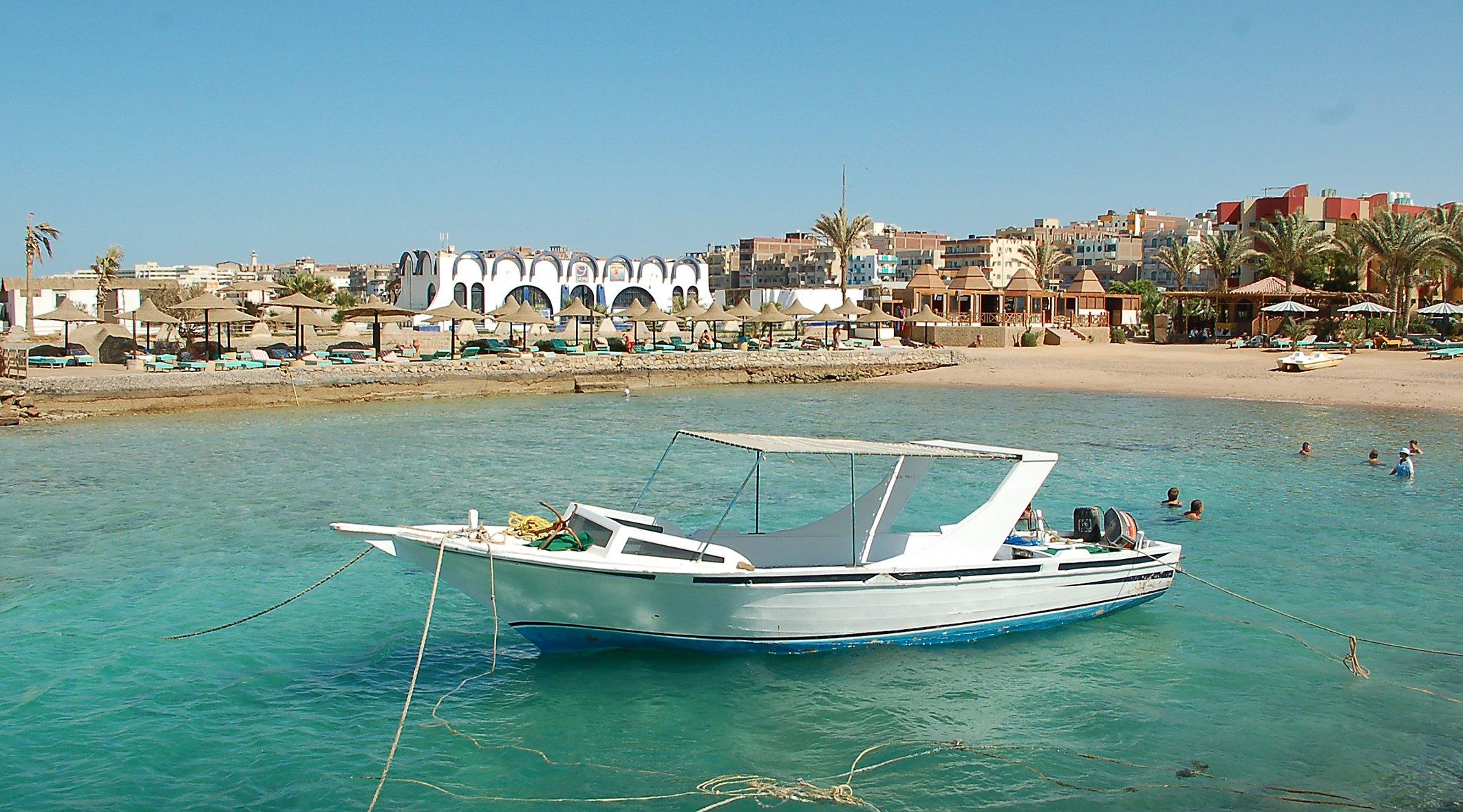 Boot bei Hurghada. Foto: Christian Maskos