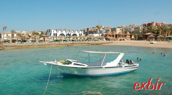 Szenerie in Hurghada