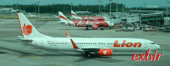 Lion Air bietet günstige Flüge innerhalb Indonesiens und von Indonesien zu in die Nachbarstaaten.  Foto: Christian Maskos
