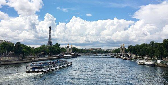 Seine und der Eiffelturm, Paris