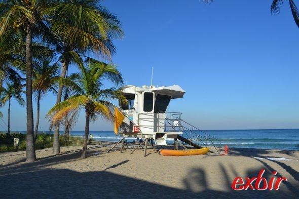 Strand von Ft. Lauderdale.  Foto: Christian Maskos